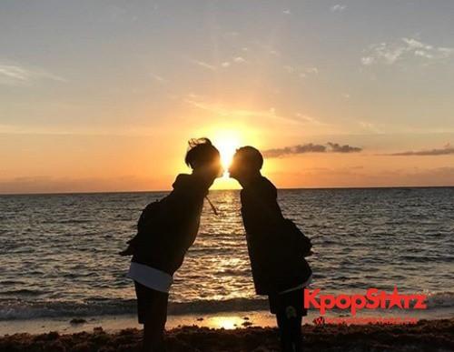 BTOB徐恩光-任炫植传出恋爱说 晒出海边甜蜜亲吻照