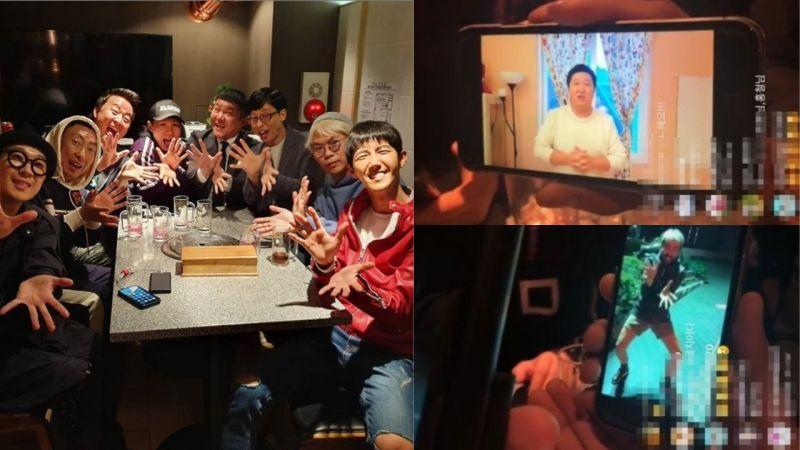 等了一年!《无限挑战》的成员们再次相聚,「元老成员」郑亨敦、卢弘喆也发了影片问候!