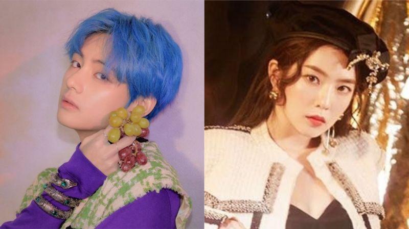 BTS防弹少年团V & Red Velvet Irene出现在漫威封面上?网友:不愧是漫撕男、漫撕女!