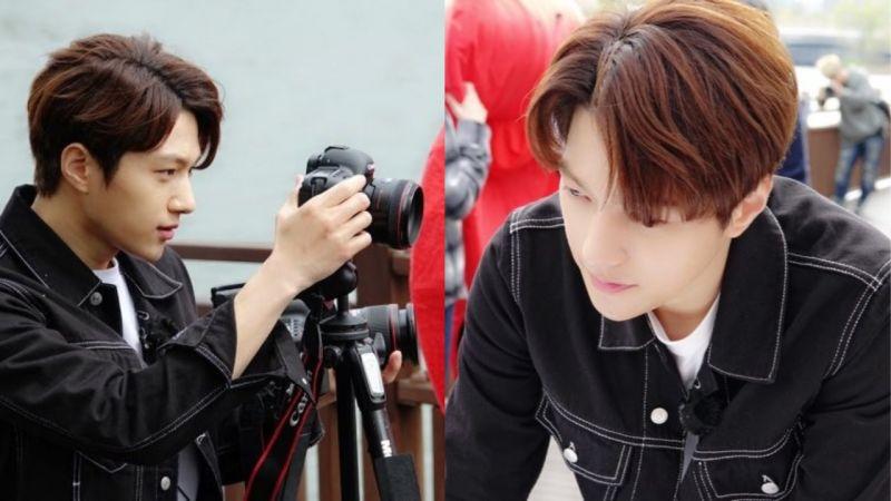 金明洙出席儿童公益活动进行「才能捐赠」亲自为大家拍摄照片!网友:「脸蛋本身就是才能啊!」