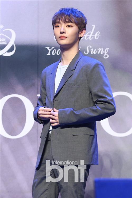 尹智圣下月14日入伍 再次离别对粉丝感抱歉