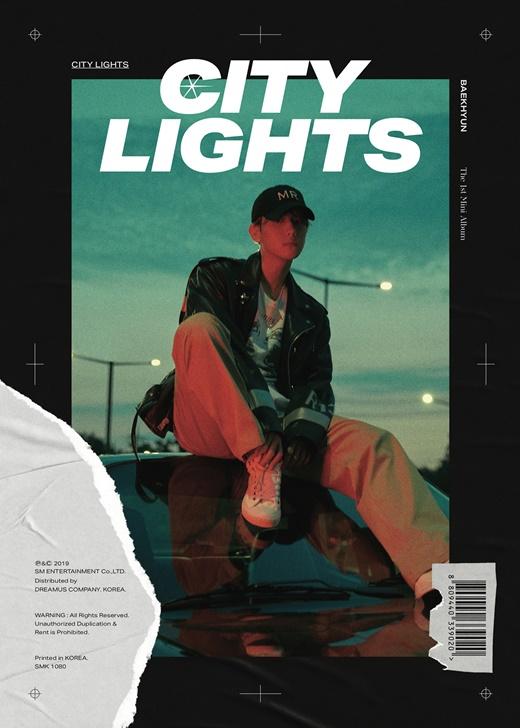 EXO伯贤solo新专辑《City Lights》预售超过40万张