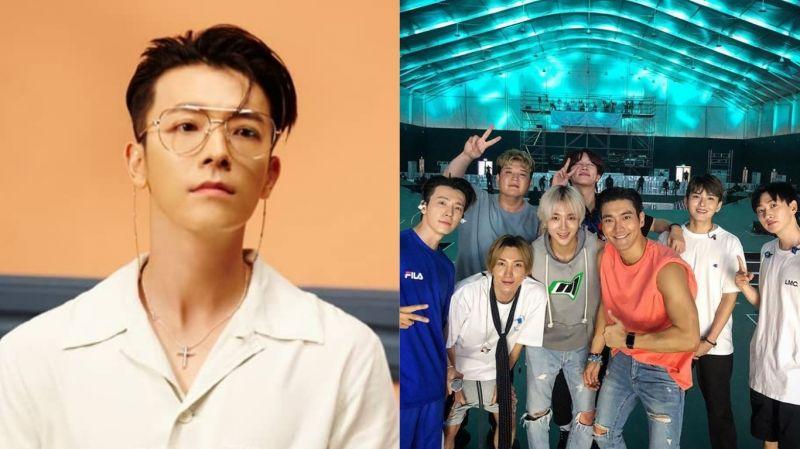 近期刚结束阿拉伯演唱会的Super Junior…团名变成「东海与他的朋友们」?