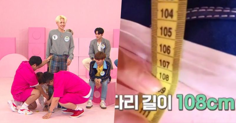 身高185cm腿长居然有108cm! 《Idol Room》X1姜敏熙自爆曾志愿当模特