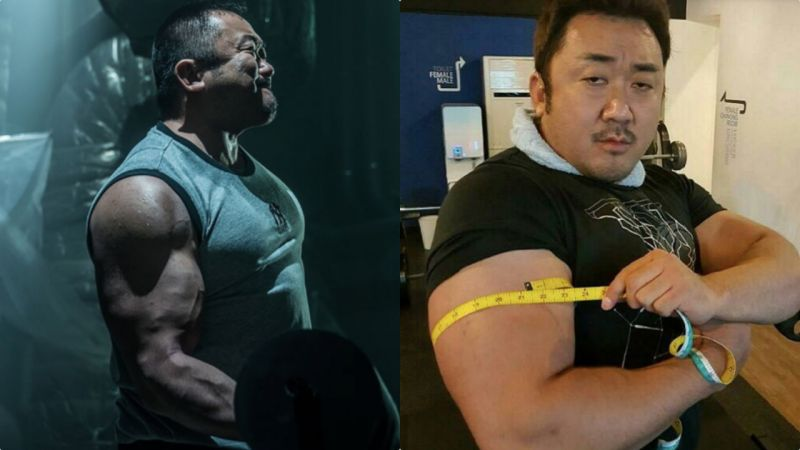 100kg马东石21英寸的麒麟臂:有能把一切变渺小的神力XD