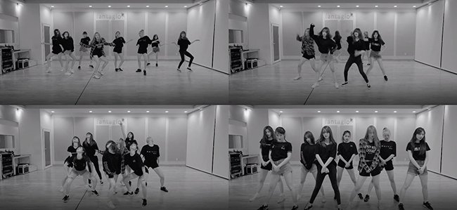 Weki Meki公开舞蹈练习影片 展现出性感又强烈的舞蹈