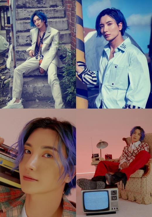 Super Junior公开利特&厉旭&圭贤预告照 复古造型展现不一样的魅力