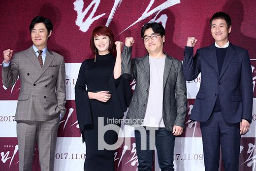 电影《美玉》举行发布会 金惠秀李善均等出席