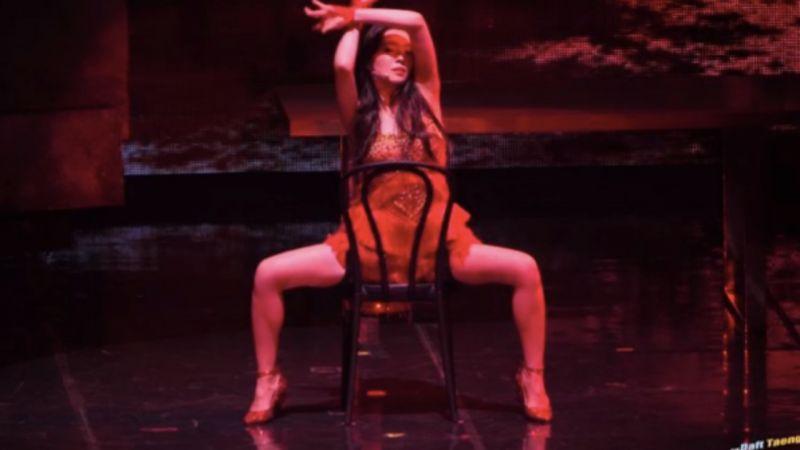 【有片】全程流鼻血!RED VELVET高冷Irene出道以来最性感椅子舞♥
