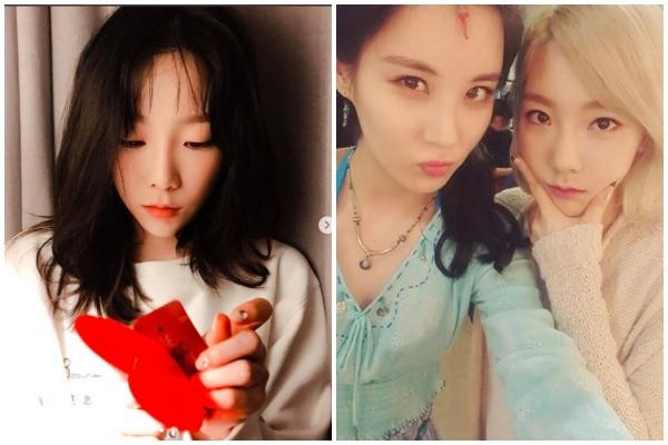 少女时代队长泰妍开唱请徐贤担任嘉宾 竟问:离开SM以后过得怎么样