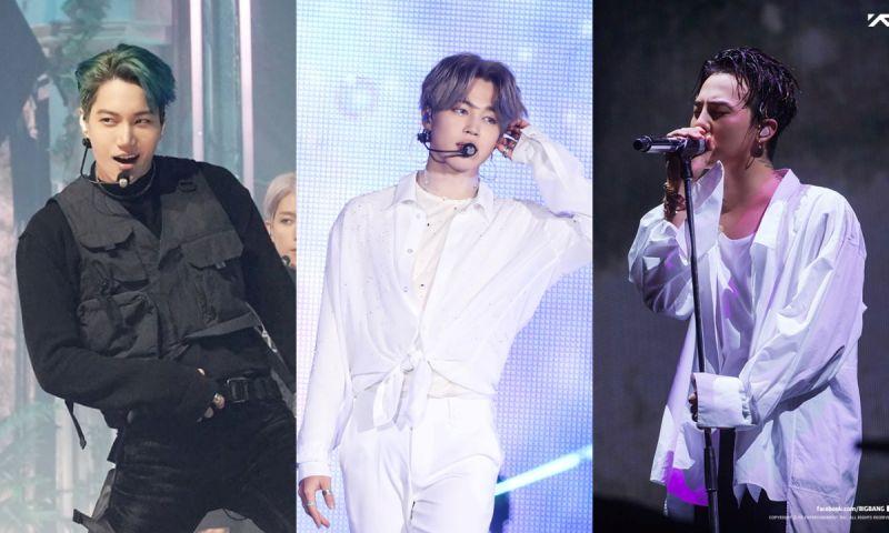 全球粉丝票选「最会跳舞的男爱豆」TOP 5:Jimin&KAI&GD均上榜