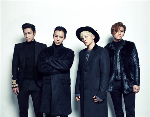 BIGBANG 4人组重启活动 受邀出席美国音乐节