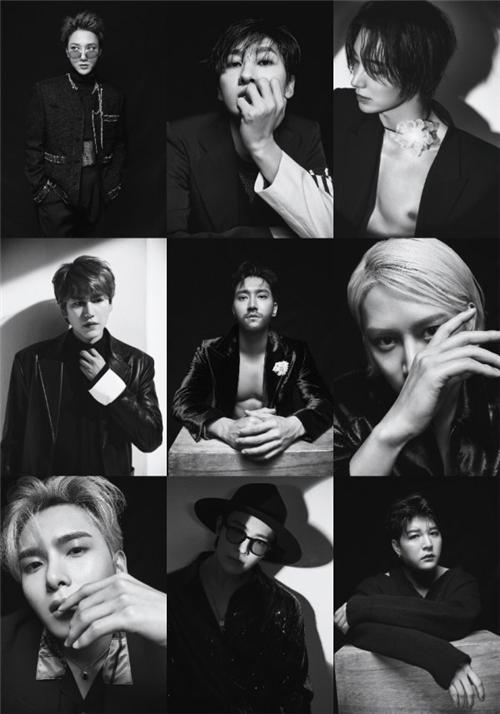 Super Junior新专辑个人预告全公开 破格挑战吸引视线