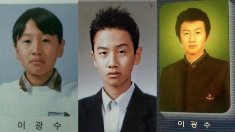 李光洙这些年都在做一件事情,那就是偷偷变帅!毕业照大合集:堪称外貌逆袭