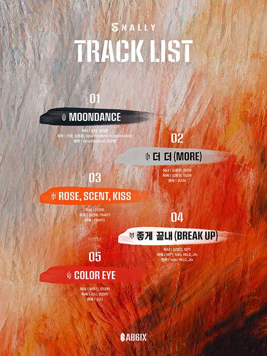 AB6IX新专辑歌单公开 全员参与作词作曲