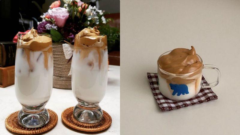 韩国全民都在DIY的「400次咖啡」到底是什么?步骤超简单颜值还高~