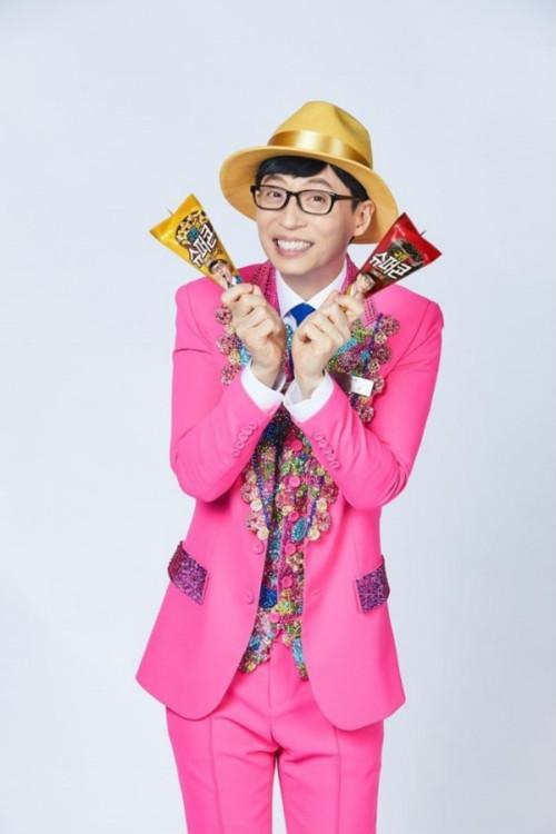 刘在石以小号刘三丝首次被选为代言人 拍摄冰激凌广告